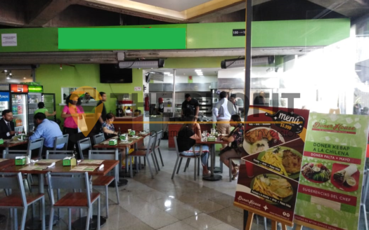 Derecho a llave de restaurante en Las Condes